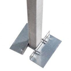 Piastra antisfondamento Sendzimir mm 130x300x50x4